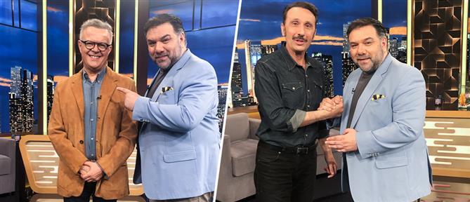 """The 2Night Show"" με Μιχάλη Ρέππα και Ρένο Χαραλαμπίδη (εικόνες)"