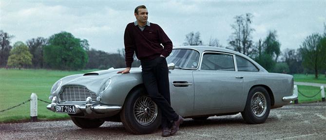 """Στο """"σφυρί"""" η θρυλική Aston Martin του Τζέιμς Μποντ (εικόνες)"""