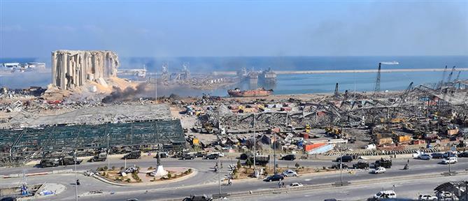Πάνω από ένας τόνος πυροτεχνημάτων βρέθηκε στο λιμάνι της Βηρυτού