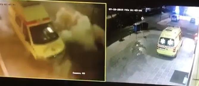 Βίντεο-ντοκουμέντο από έκρηξη βόμβας σε κλινική