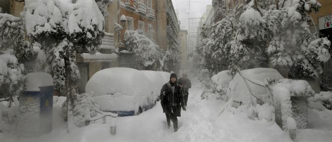 """Κακοκαιρία """"Λέανδρος"""": δεύτερη φάση με χιόνια και ψύχος"""