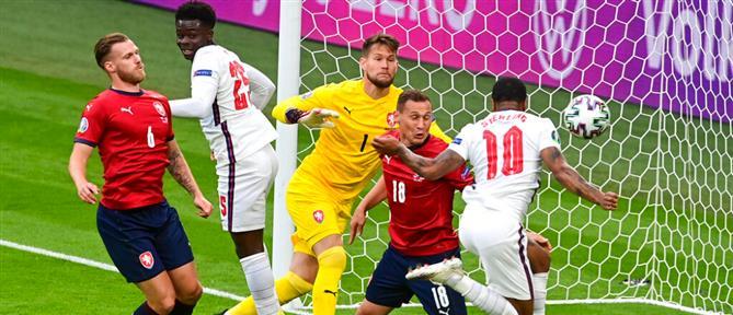Euro 2020: Η Αγγλία νίκησε την Τσεχία και πήρε την πρωτιά στον όμιλο (βίντεο)