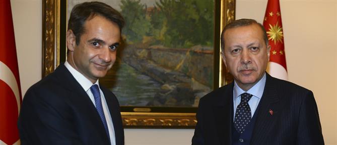 Μήνυμα Ερντογάν προς Μητσοτάκη για τις ελληνοτουρκικές σχέσεις