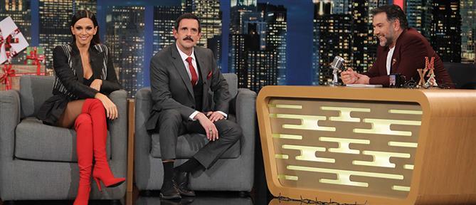 """The 2Night Show"" με τον ""Δούκα Σεβαστό"" και την Έλλη Κοκκίνου (εικόνες)"