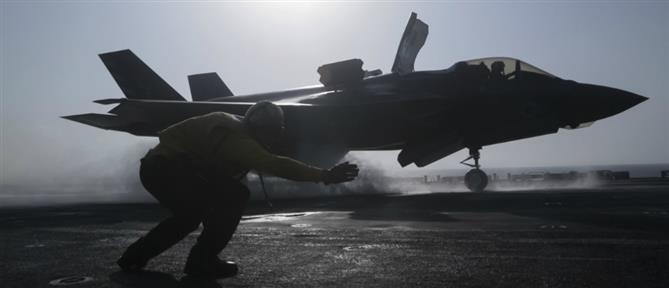 Μαχητικά F-35 σε κοινή άσκηση με την Ελλάδα (βίντεο)