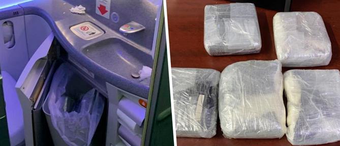 Κοκαΐνη στις τουαλέτες αεροσκάφους (εικόνες)