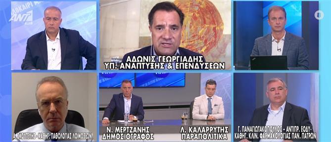 """Γεωργιάδης στον ΑΝΤ1 για """"σχέδιο Πισαρίδη"""": στόχος να αλλάξουμε τη μοίρα του τόπου (βίντεο)"""