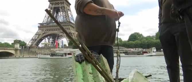 Σοκάρουν τα... αλιεύματα από τα νερά του Σηκουάνα (βίντεο)