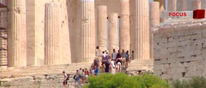 """Πόλος έλξης για τους τουρίστες τα """"διαμάντια"""" της πολιτιστικής μας κληρονομιάς (βίντεο)"""