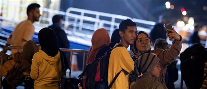 Πειραιάς: στο λιμάνι πρόσφυγες και μετανάστες από νησιά του ανατολικού Αιγαίου