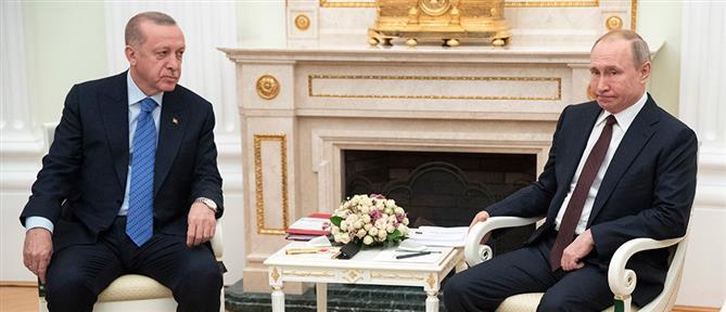 Πούτιν σε Ερντογάν: Πρέπει να διατηρηθεί η Συνθήκη του Μοντρέ