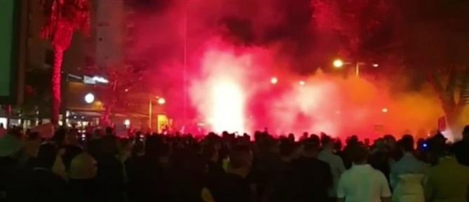 Σοβαρά επεισόδια με τραυματίες στη Λεμεσό (βίντεο)