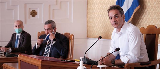 Μητσοτάκης: εθνική επιτυχία η συμφωνία για την ΑΟΖ Ελλάδας - Αιγύπτου