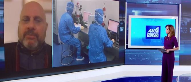 """Κούβελας στον ΑΝΤ1: κυκλοφορούν πολλοί μύθοι για τα φάρμακα που """"χτυπούν"""" τον κορονοϊό (βίντεο)"""