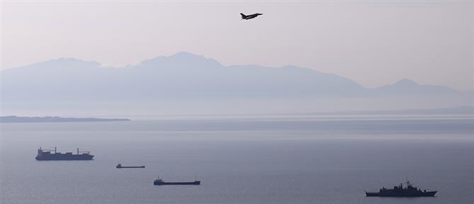 Πολεμικά αεροσκάφη πάνω από την Αθήνα και τη Θεσσαλονίκη (εικόνες)