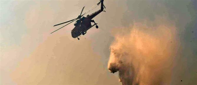 Φωτιά στο Ναύπλιο: βελτιωμένη εικόνα