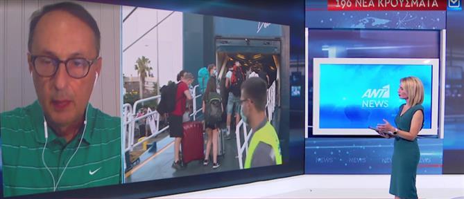 Σύψας στον ΑΝΤ1: ανησυχητικό σημάδι ο διπλασιασμός των κρουσμάτων στην Αττική (βίντεο)