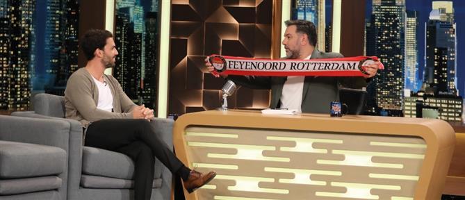 """Γιώργος Λέντζας στο """"The 2night Show"""": Αφήνει τις """"Ιστορίες ποδοσφαίρου"""" και..πιάνει τις προσωπικές (βίντεο)"""