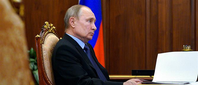 Κορονοϊός - Πούτιν: πρέπει να παραμείνω σε καραντίνα γιατί….
