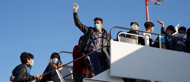 Από τα νησιά στη Γερμανία παιδιά αιτούντες άσυλο