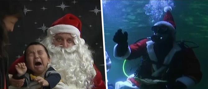 Σε χριστουγεννιάτικους ρυθμούς κινείται ολόκληρος ο πλανήτης (βίντεο)