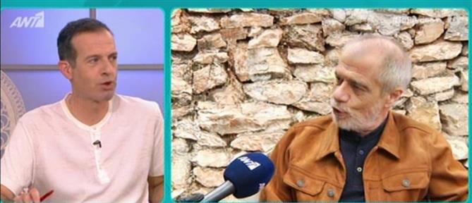 """Πρέκας στο """"Πρωινό"""": το νέο βιβλίο, η Ελένη Μενεγάκη και ο Ντάνος (βίντεο)"""