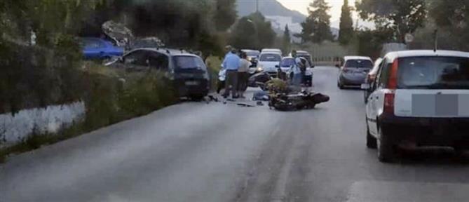 Σοκαριστικό τροχαίο με θύμα μοτοσικλετιστή