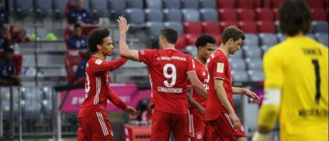 """Η Μπάγερν Μονάχου γιόρτασε τον τίτλο με """"εξάσφαιρο""""!"""