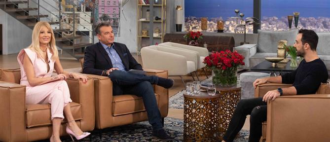 """Ο Τανιμανίδης στο """"Πρωινό"""": Η """"Φάρμα"""", τα δίδυμα και η παρέμβαση της μητέρας του (βίντεο)"""