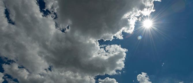 Καιρός: Ζέστη και βροχές την Δευτέρα