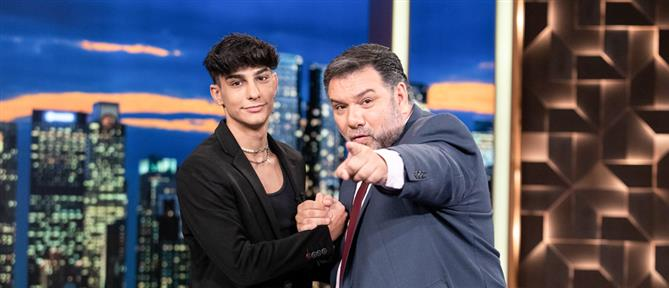 """The 2Night Show"" - Νίκος Μπάρκουλης: Η επιθυμία του πατέρα του, το tik tok και το bullying (βίντεο)"
