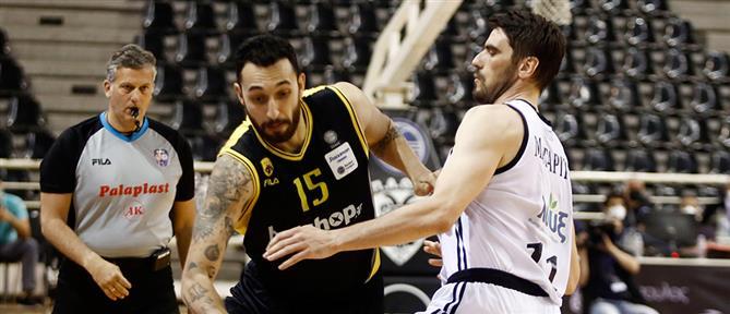 """Basket League: Ο ΠΑΟΚ """"ισοφάρισε"""" την ΑΕΚ"""