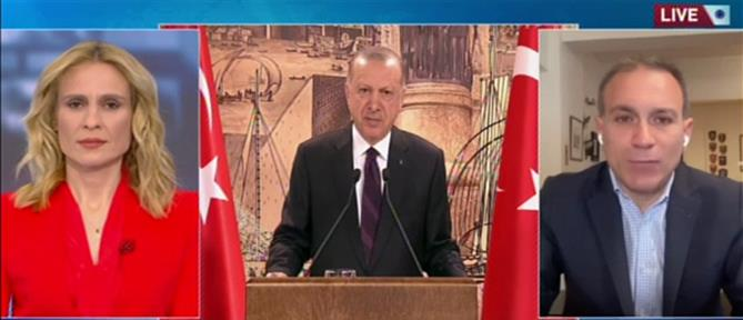 """Κωνσταντίνος Φίλης για Τουρκία: Αλλάζουν οι κανόνες του """"παιχνιδιού"""" (βίντεο)"""