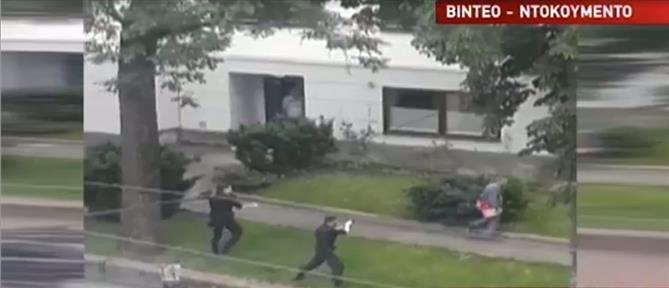 Αποκλειστικό ΑΝΤ1: βίντεο-ντοκουμέντο από την εξουδετέρωση ένοπλου στο Όσλο (βίντεο)