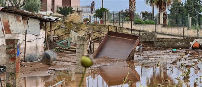 """""""Ιανός"""": Μέτρα για τις πληγείσες περιοχές"""