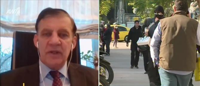 """Κορονοϊός - Δημόπουλος στον ΑΝΤ1: το τρίτο κύμα είναι """"στο χέρι μας"""" (βίντεο)"""