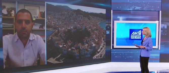 """Κορονοϊός - Δήμαρχος Πόρου στον ΑΝΤ1: Είναι """"μουδιασμένοι"""" όλοι στο νησί (βίντεο)"""