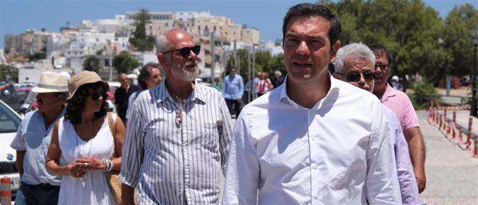 Τσίπρας από Νάξο: Η κυβερνητική πολιτική μεγιστοποιεί την κρίση
