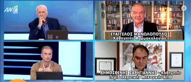 Μανωλόπουλος: το εμβόλιο της γρίπης ενισχύει την άμυνα και κατά του κορονοϊού (βίντεο)