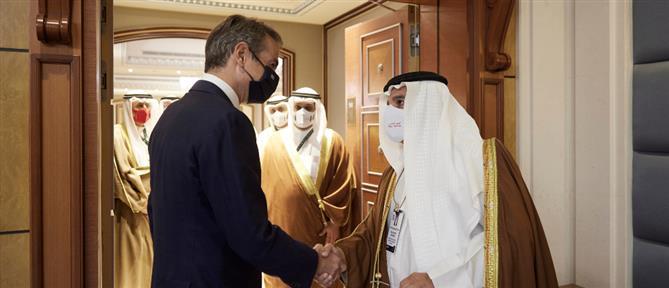 Μητσοτάκης - αλ Χαλίφα: Συνεργασία στις επενδύσεις και τον Τουρισμό