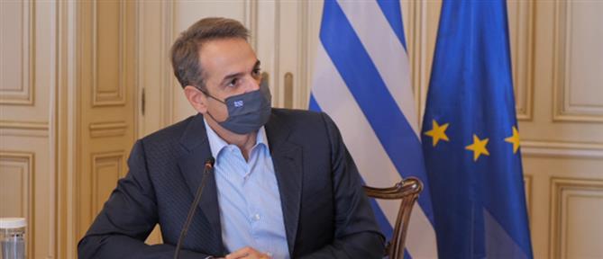 Κορονοϊός: Στη Θεσσαλονίκη ο Κυριάκος Μητσοτάκης