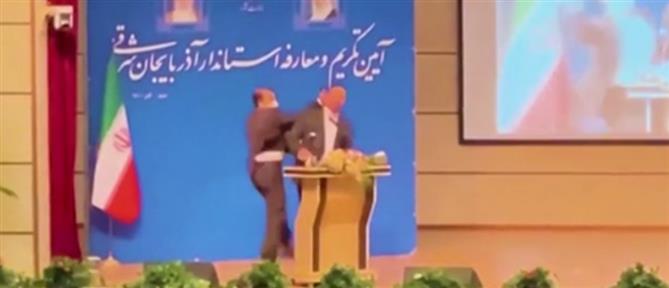 Ιράν: χαστούκι σε κυβερνήτη για άνδρα… εμβολιαστή! (βίντεο)