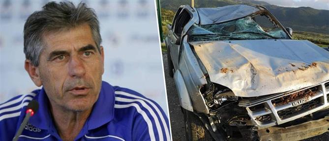 Άγγελος Αναστασιάδης: έπεσε με το αυτοκίνητό του σε χαράδρα τριών μέτρων
