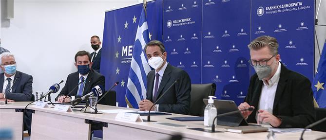 Μητσοτάκης: Η πολιτική 6 σημείων για το μεταναστευτικό