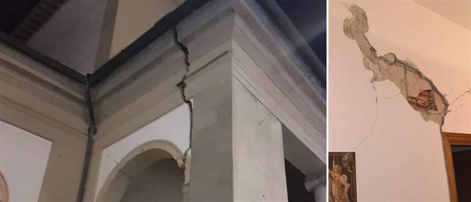 Σεισμός στην Τοσκάνη: Αναστάτωση και υλικές ζημιές (εικόνες)