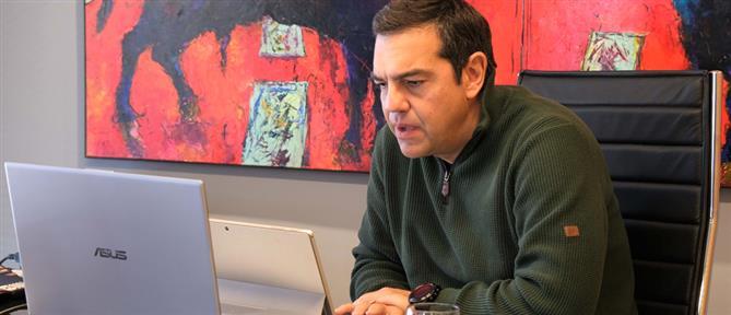 """Τσίπρας: Το εργασιακό νομοσχέδιο είναι """"γραμμάτιο"""" στον ΣΕΒ"""