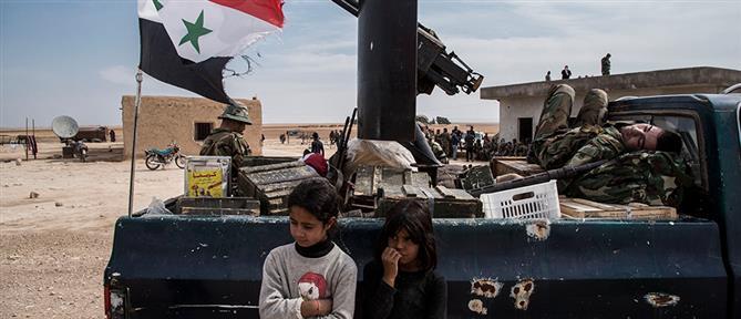 """Συρία: Οι Κούρδοι μαχητές απομακρύνθηκαν από την """"ζώνη ασφαλείας"""""""