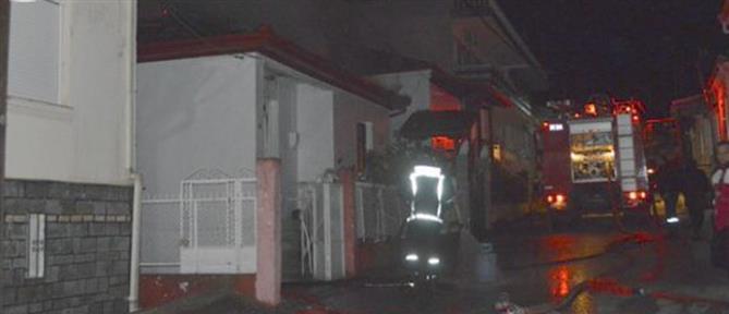 Τραγωδία: ηλικιωμένος κάηκε ζωντανός μέσα στο σπίτι του (εικόνες)