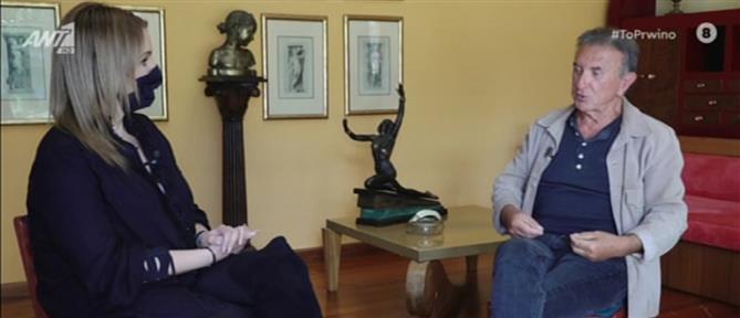 """Παπαργυρόπουλος στο """"Πρωινό"""": γιατί ο Νταλάρας """"ξεχνάει"""" τα μπουζούκια; (βίντεο)"""