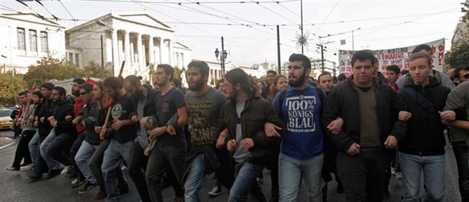 Πανεκπαιδευτικό συλλαλητήριο στα Προπύλαια για κορονοϊό και... Rafale!